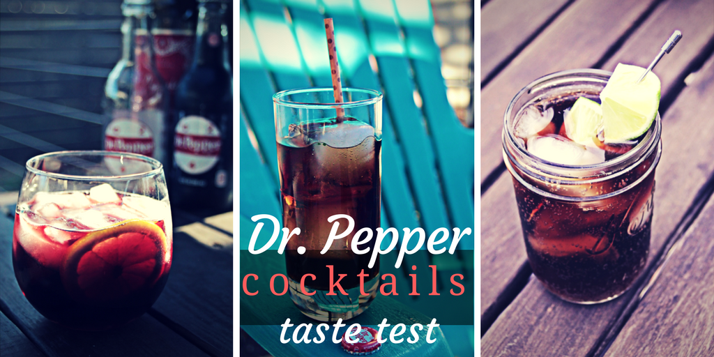 Comparing Dr. Pepper as a cocktail ingredient in the three classic drinks that feature Coca-Cola in their recipes. How does DP fare in Dr Pepper cocktails?