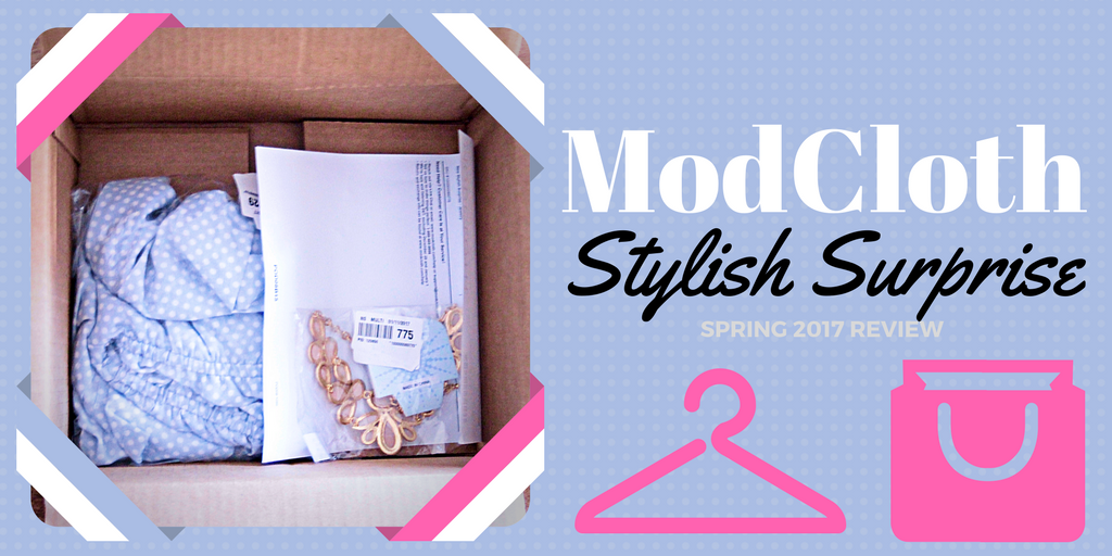 Surprise! ModCloth kills it with their ~MYSTERY~ deals every season. See what showed up as my Stylish Surprise accessory and apparel items for Spring 2017!